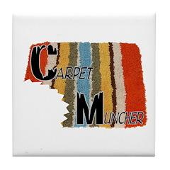 Carpet Muncher Tile Coaster
