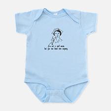 Not A Real Nurse Infant Bodysuit