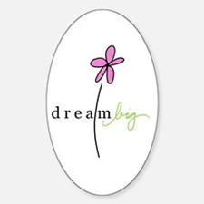 Dream Big Oval Decal