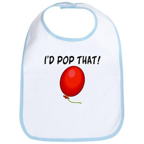 I'd Pop That Balloon Bib