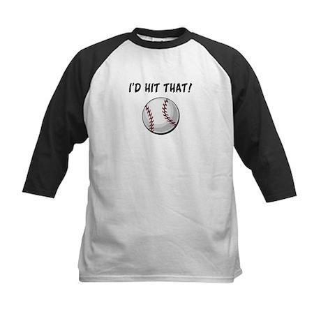 I'd Hit That Baseball Kids Baseball Jersey