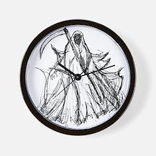 Death Reaper Wall Clock
