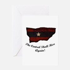 the Central Shall Rise Again Greeting Card
