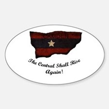 the Central Shall Rise Again Decal