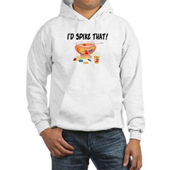 I'd Spike That Punch Hoodie