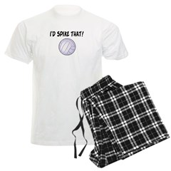 I'd Spike That Volleyball Men's Light Pajamas