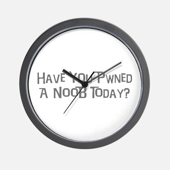Pwned a NooB Wall Clock