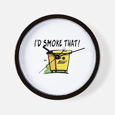I'd Smoke That Bee Hive Wall Clock
