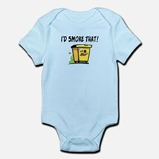 I'd Smoke That Bee Hive Infant Bodysuit
