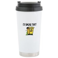 I'd Smoke That Bee Hive Travel Mug