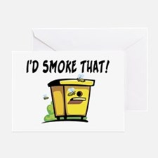 I'd Smoke That Bee Hive Greeting Card