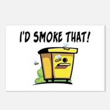 I'd Smoke That Bee Hive Postcards (Package of 8)