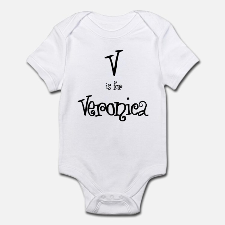 V Is For Veronica Infant Creeper