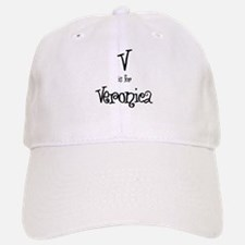 V Is For Veronica Baseball Baseball Cap