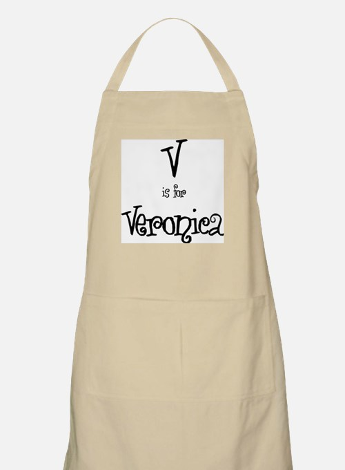V Is For Veronica BBQ Apron