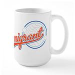 Baseball Immigrant Large Mug