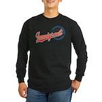 Baseball Immigrant Long Sleeve Dark T-Shirt