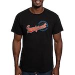 Baseball Immigrant Men's Fitted T-Shirt (dark)
