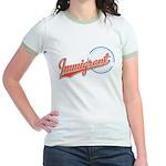 Baseball Immigrant Jr. Ringer T-Shirt