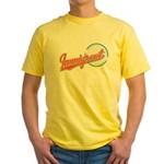 Baseball Immigrant Yellow T-Shirt