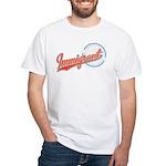 Baseball Immigrant White T-Shirt