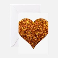 I Love it Spicy Greeting Card