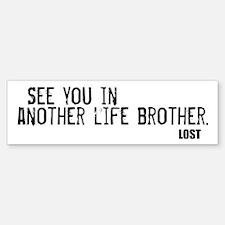 Lost Bumper Bumper Sticker