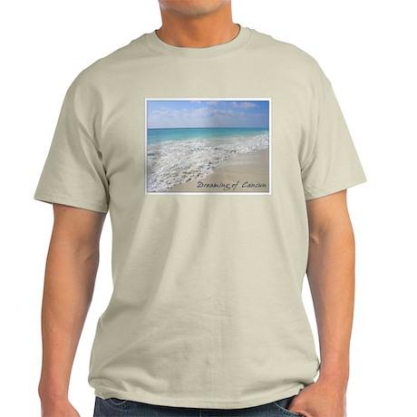 Dreaming of Cancun Ash Grey T-Shirt