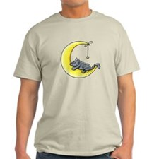 Gray Tabby Lunar Love T-Shirt
