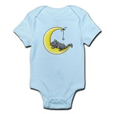 Gray Tabby Lunar Love Infant Bodysuit