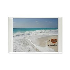 I Love Cancun Rectangle Magnet