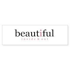 beautiful Bumper Bumper Sticker