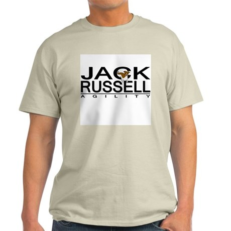 Jack Russell Agility Ash Grey T-Shirt