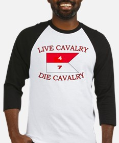 4th Squadron 7th Cavalry Baseball Jersey
