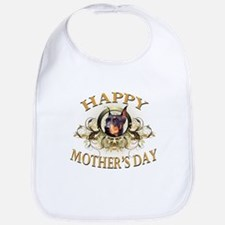 Happy Mother's Day Doberman Bib
