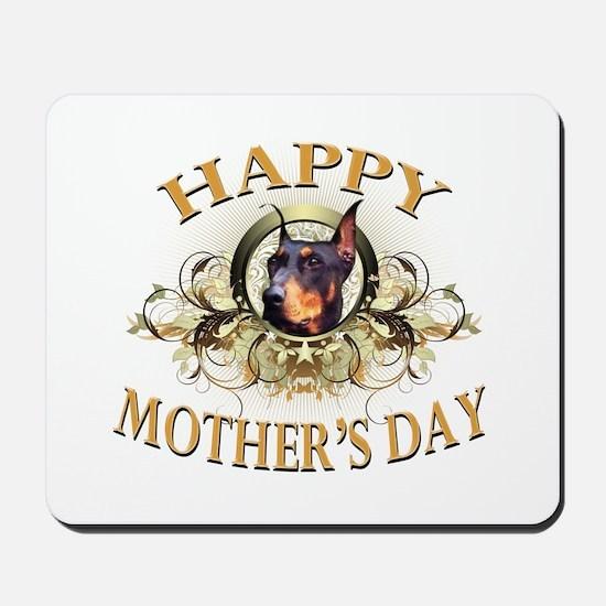 Happy Mother's Day Doberman Mousepad