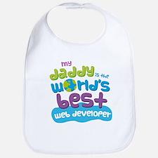 Web Developer Gifts for Kids Baby Bib