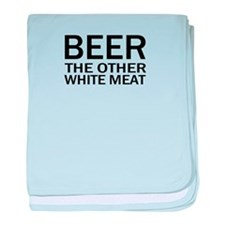 Beer The Other White Meat baby blanket