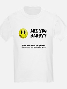 Happy? T-Shirt