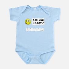 Happy? Infant Bodysuit