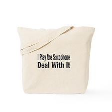 Cute Saxaphone Tote Bag