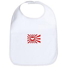 Japan's Heart Flag Bib