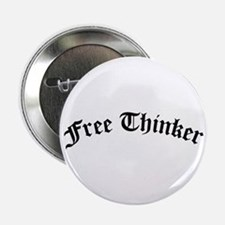 """Free Thinker (Old Style) 2.25"""" Button"""