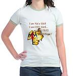Im Not a Bitch Jr. Ringer T-Shirt