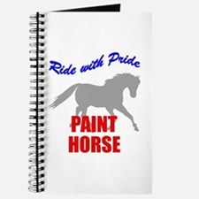 Ride With Pride Paint Horse Journal