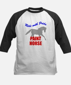 Ride With Pride Paint Horse Tee