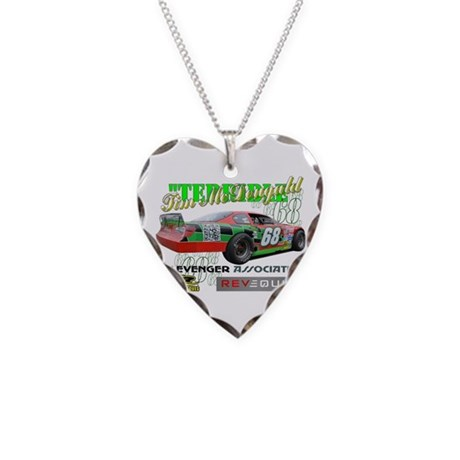 """Terrible"" Tim Necklace Heart Charm"