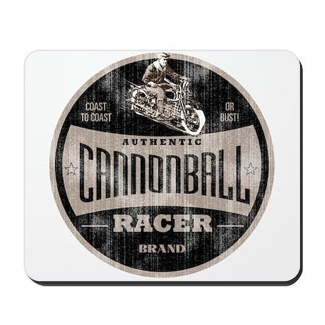 CANNONBALL RACER Mousepad