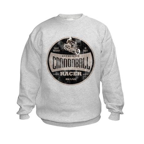 CANNONBALL RACER Kids Sweatshirt