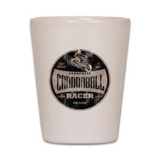 CANNONBALL RACER Shot Glass